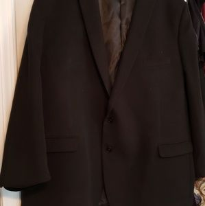 Black Calvin Klein Men's wool  sport coat